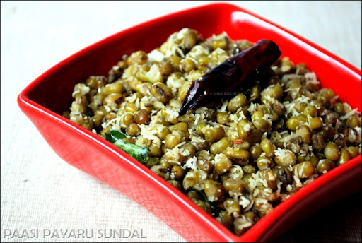 Sweet sundal recipe